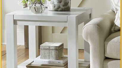 Decorating End Tables In Living Room