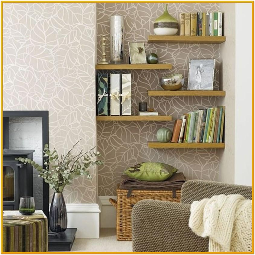 Decorating High Shelf In Living Room