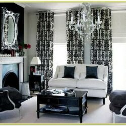 Decorating Ideas Black And White Living Room