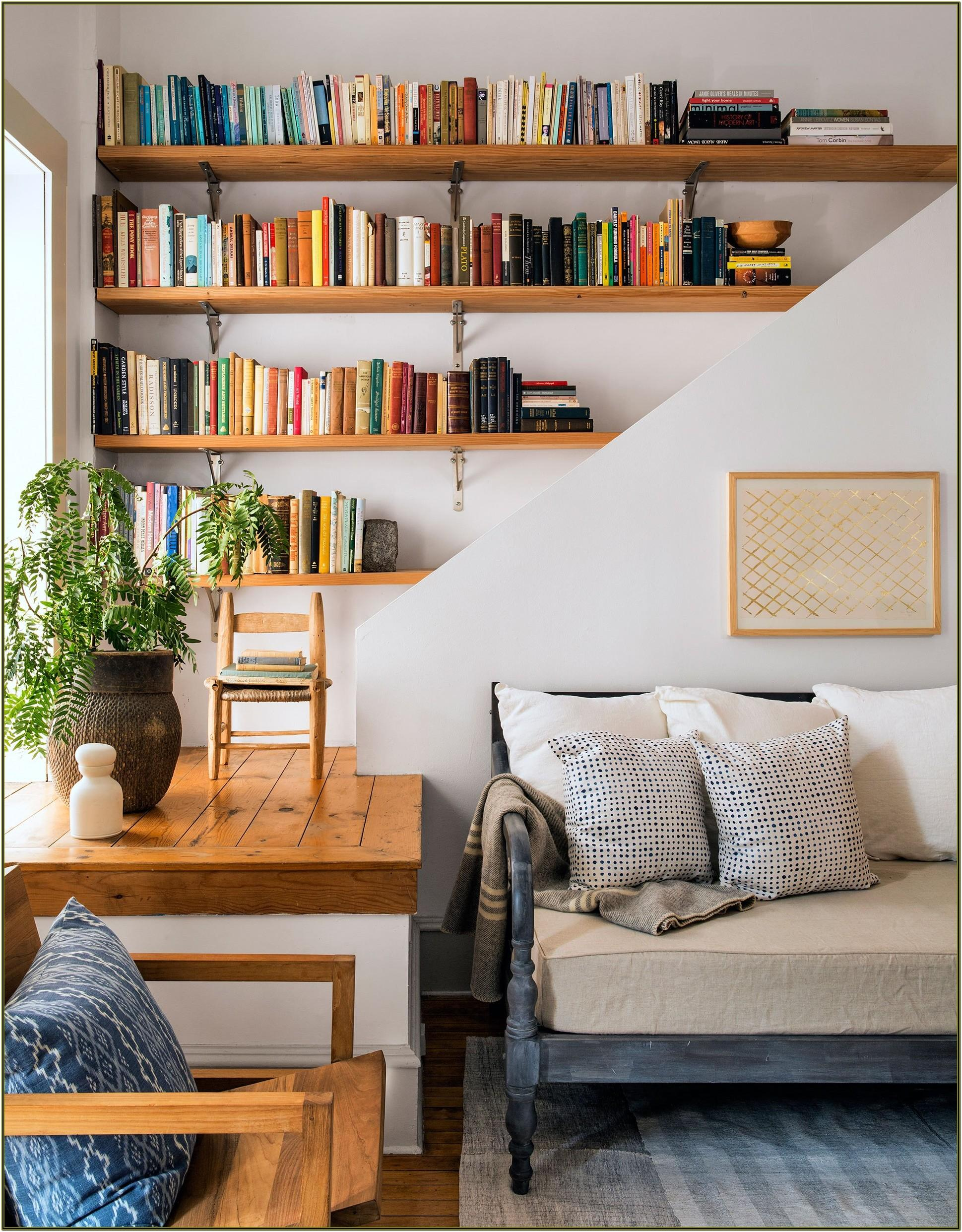 Decorating Ideas For Living Room Bookshelves