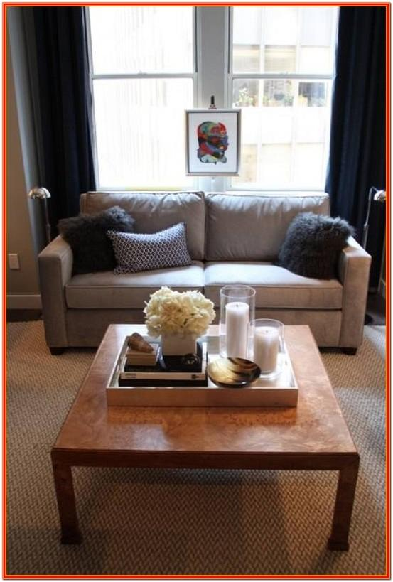 Decorating Ideas For Living Room Coffee Tables