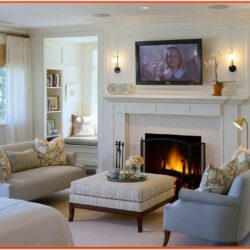 Decorating Ideas For Living Room Fireplace