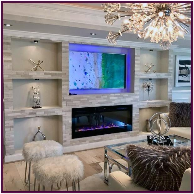 Decorating Ideas For Living Room Wall Niche