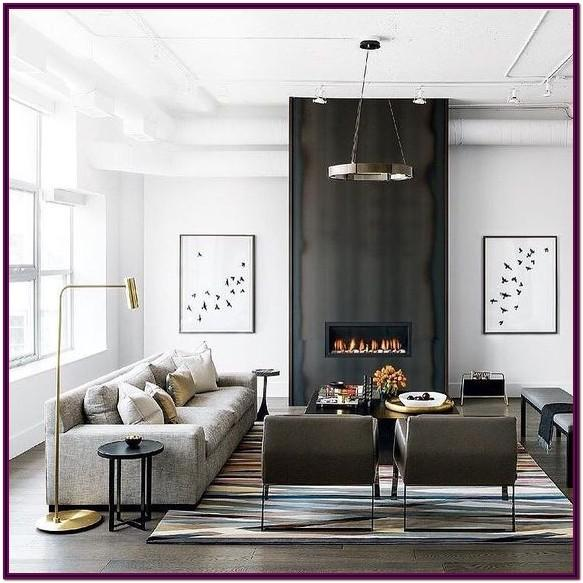 Decorating Ideas For Living Room With Black Fireplace