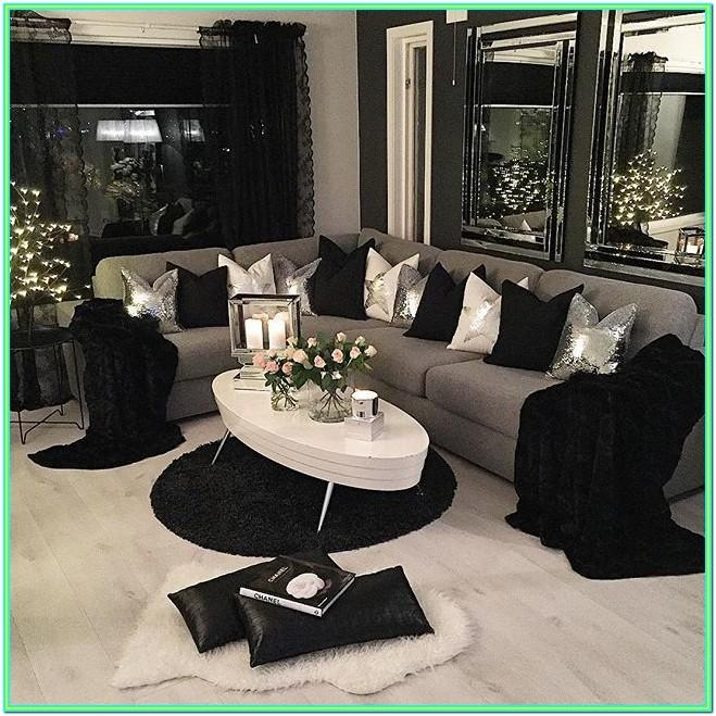 Decorating Ideas For Living Room With Black Furniture