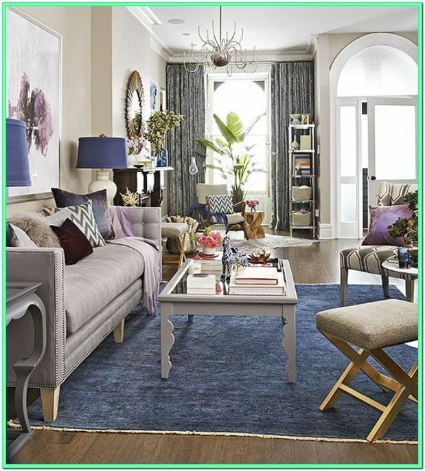 Decorating Ideas For Living Room With Blue Carpet