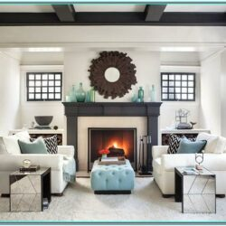 Decorating Ideas For Living Room With Fireplace