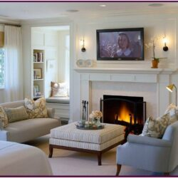 Decorating Ideas For Living Room With Fireplace And Tv