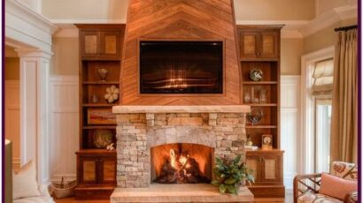 Decorating Ideas For Living Room With Rock Fireplace