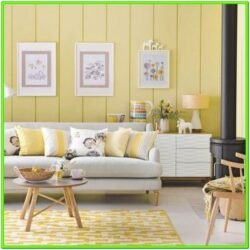 Decorating Ideas For Living Room With Yellow Accents