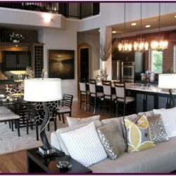 Decorating Ideas For Open Living Room And Kitchen