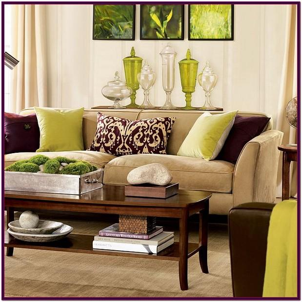 Decorating Ideas Living Room With Brown Sofas