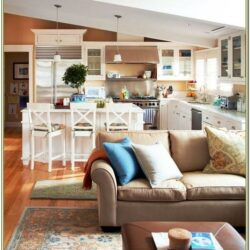 Decorating Kitchen And Living Room Combo