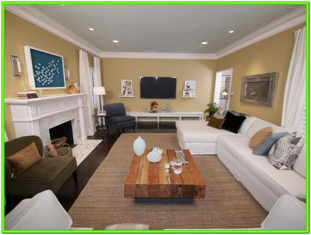 Decorating Large Rectangular Living Room