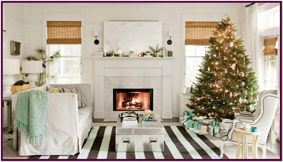 Decorating Living Room Ideas For Christmas