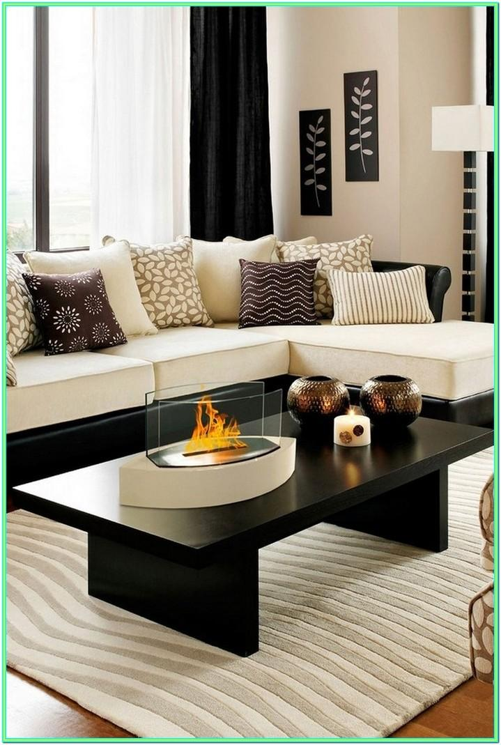 decorating living room tables