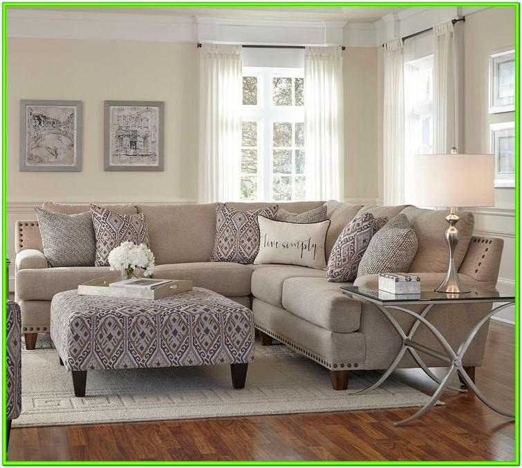 Decorating Living Room With Beige Leather Sofa