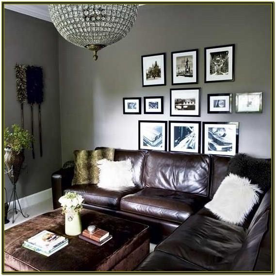 Decorating Living Room With Brown Walls