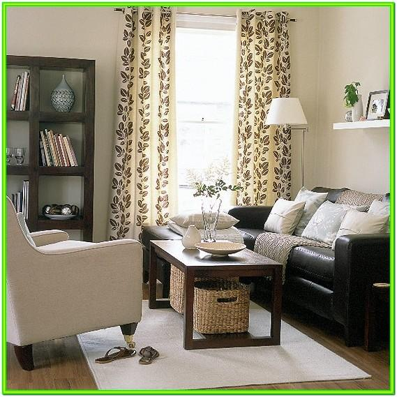 Decorating Living Room With Dark Brown Sofa