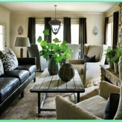 Decorating Living Room With Dark Furniture