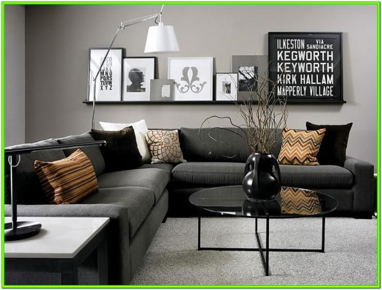 Decorating Living Room With Gray Furniture
