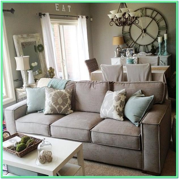 Decorating Living Room With Gray Sofa