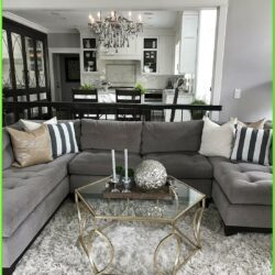 Decorating Living Room With Grey Furniture