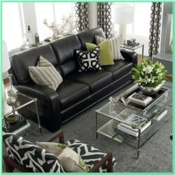 Decorating Living Room With Leather Furniture