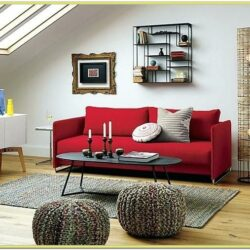 Decorating Living Room With Red Carpet