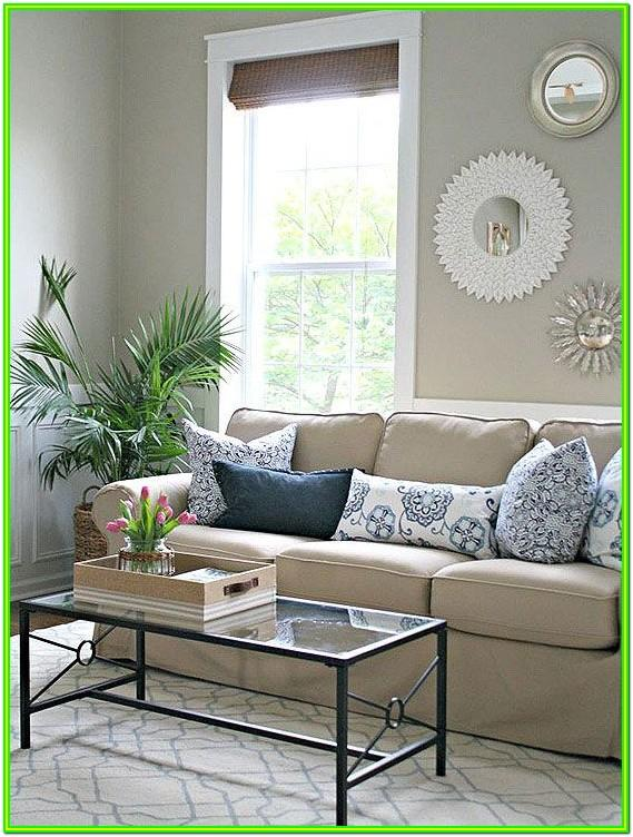Decorating Living Room With Tan Furniture