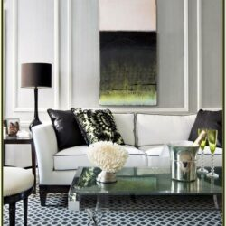 Decorating Living Room With White Furniture