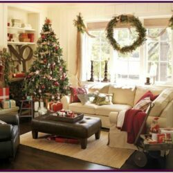 Decorating Living Rooms For Christmas