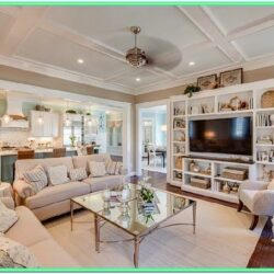 Decorating Open Floor Plan Living Room And Kitchen