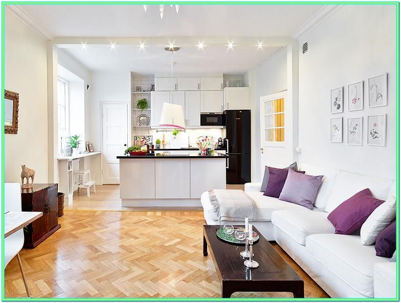 Decorating Open Plan Kitchen And Living Room