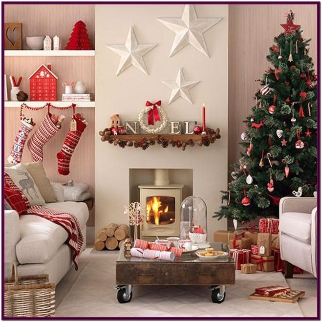 Decorating Small Living Room For Christmas