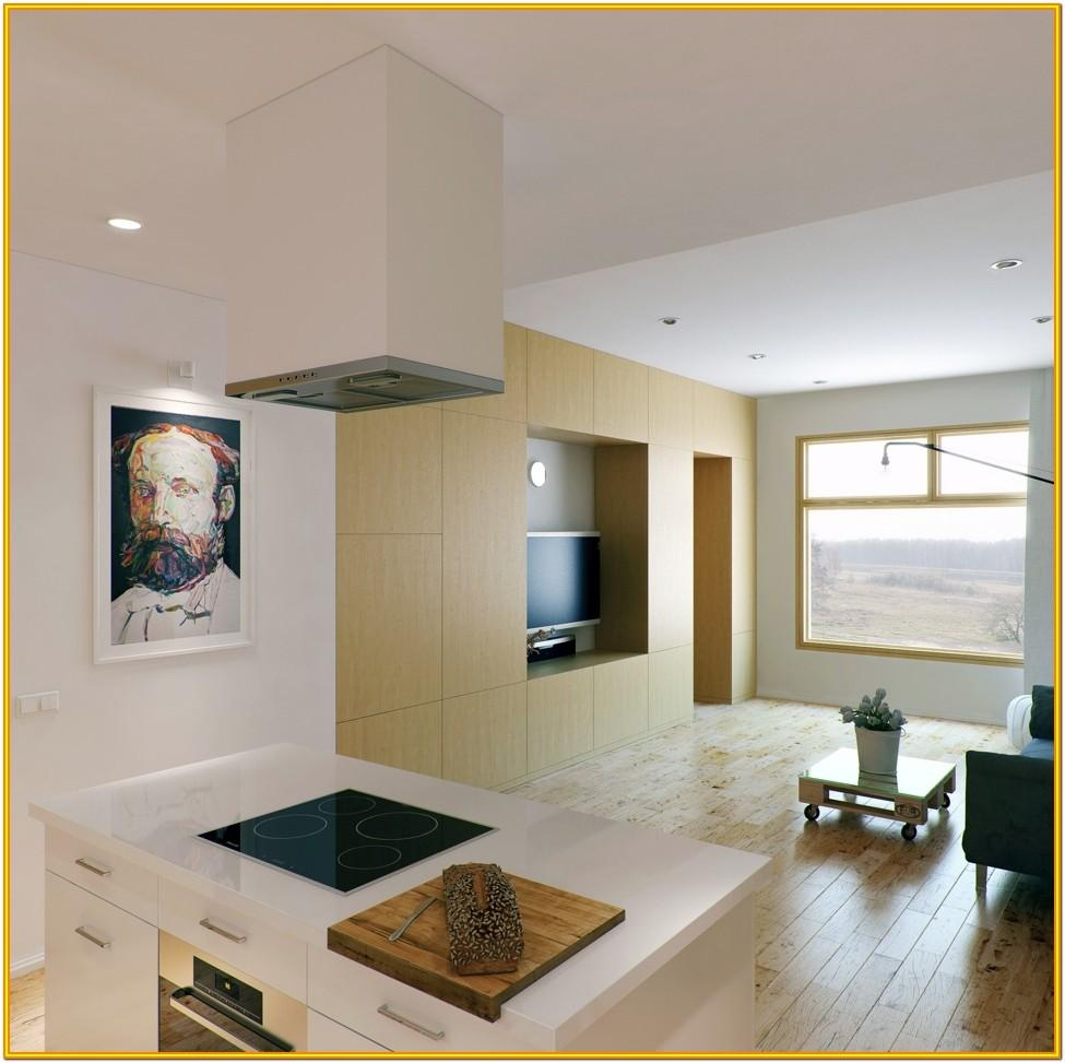 Decorating Small Living Room With Kitchen