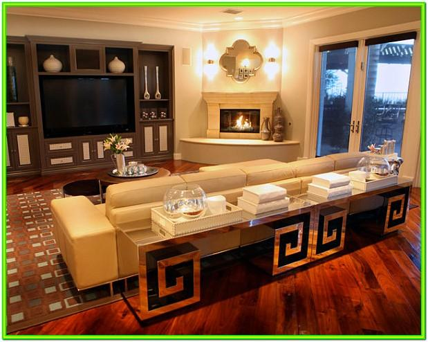 Design Ideas For Living Room With Corner Fireplace