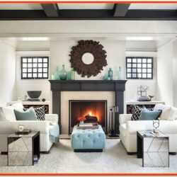 Design Ideas For Living Room With Fireplace