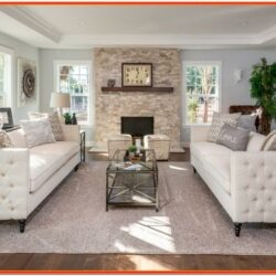 Design Ideas For Rectangular Living Room