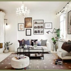 Design Living Room Black White