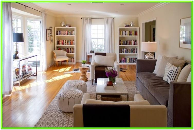 Design Long Narrow Living Room