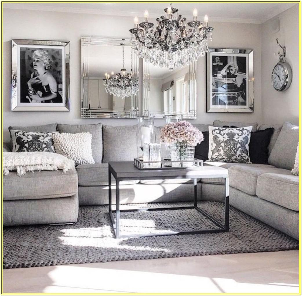 Diy Glam Living Room Decor