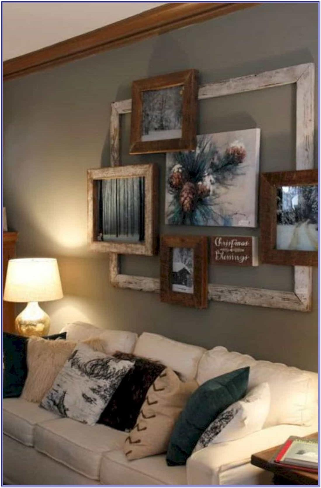 Diy Rustic Living Room Wall Decor