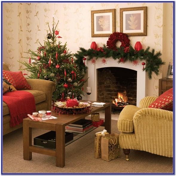 Elegant Christmas Living Room Decor