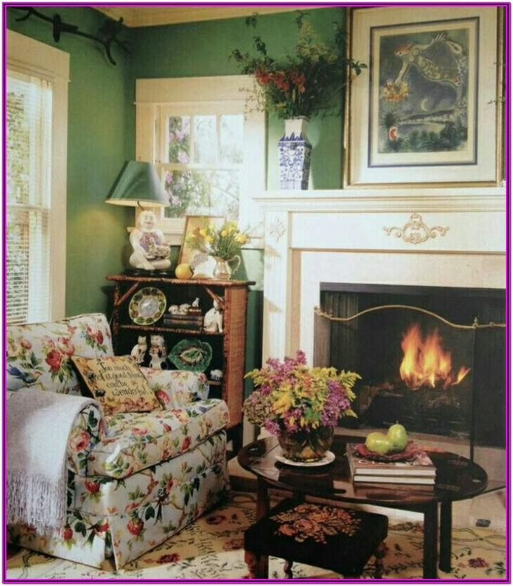 English Cottage Living Room Decor