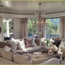 Farmhouse Glam Living Room Decor