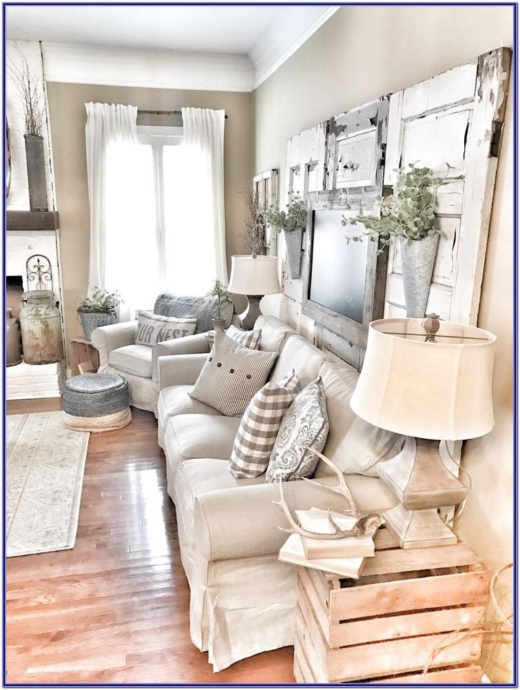 Farmhouse Living Room Decor Pics