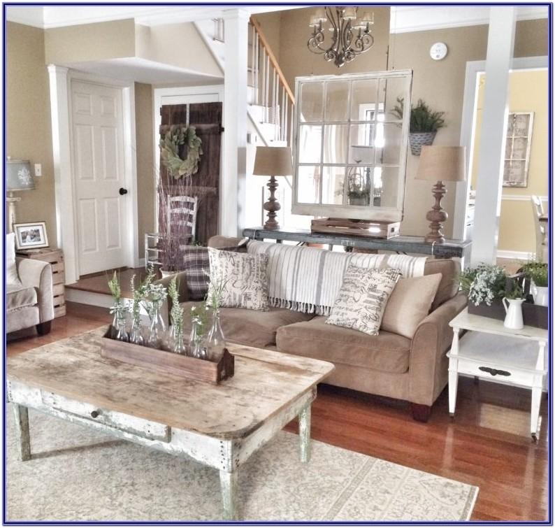 Farmhouse Living Room Decorations