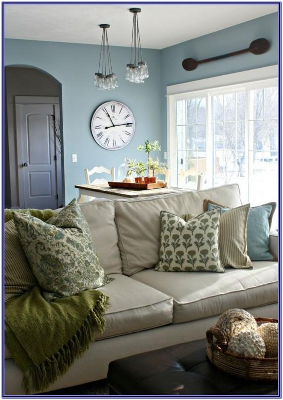 Farmhouse Living Room Idea