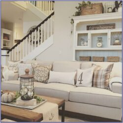 Farmhouse Theme Living Room